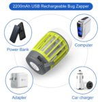 WloveTravel lampe anti moustique UV portable d'extérieur et de voyage - camping - 2