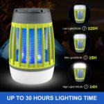 WloveTravel lampe anti moustique UV portable d'extérieur et de voyage - camping - 3