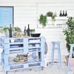 Table en palette pour le jardin